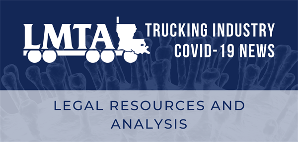 COVID-19: Legal Resources and Analysis